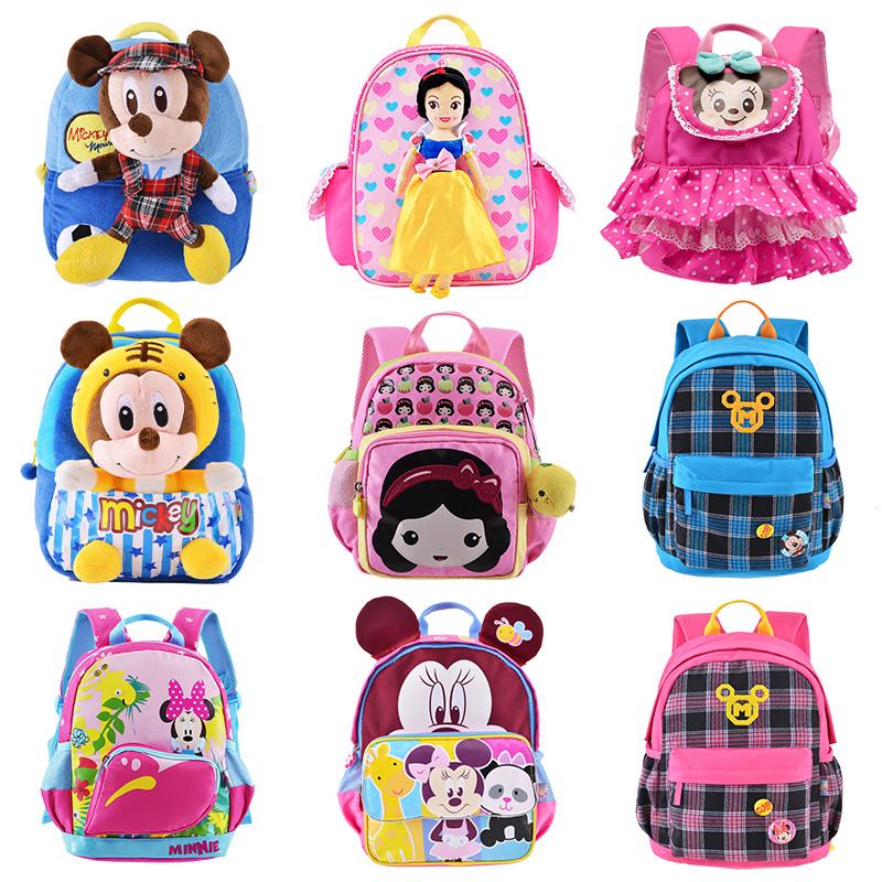 迪士尼幼儿园书包男女童1-3-5-6岁小孩宝宝双肩背包大班卡通可爱