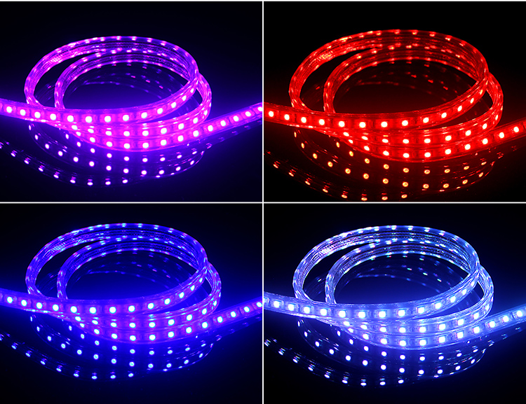 Led Colorful Light With Living Room 5050 Color Outdoor Advertising Home Decoration Lights Bar Waterproof Ceiling