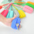 Square silicone key bag Japanese and Korean candy-colored key storage bag Creative silicone key storage bus card holder