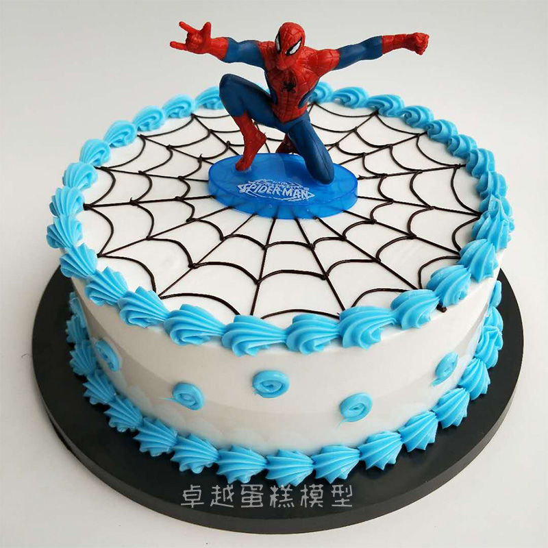 Marvelous Usd 20 50 Simulation Cake Model Creative Cartoon Spider Man Personalised Birthday Cards Paralily Jamesorg
