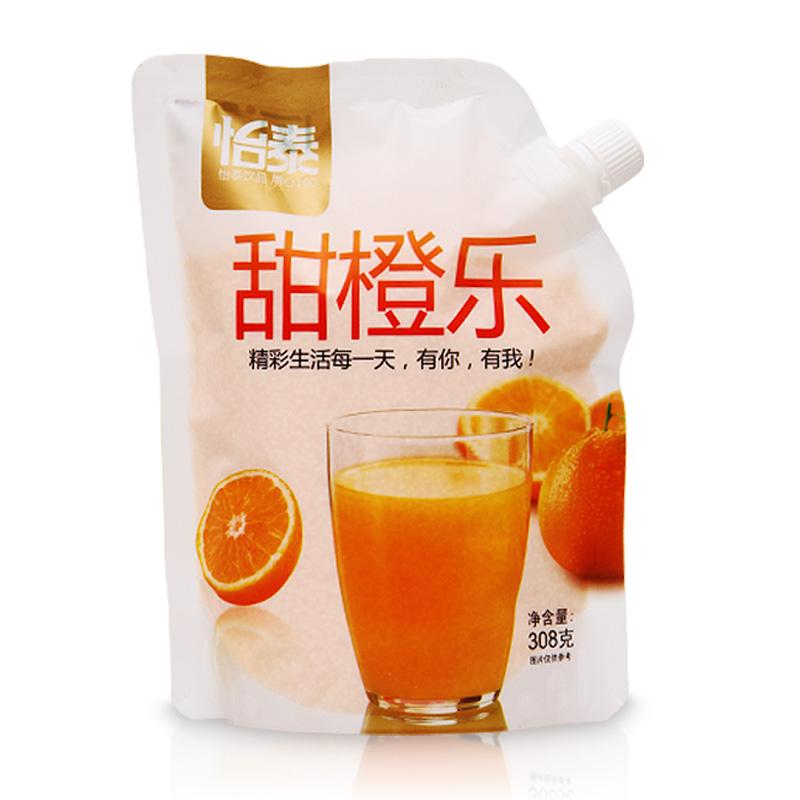 怡泰果汁粉橙汁饮料粉浓缩果珍粉原料速溶果汁粉308g/袋