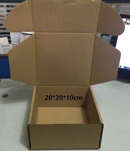 正方型22*21*10.5/16*16*8牛皮纸飞机盒快递纸箱 服装盒 鞋盒