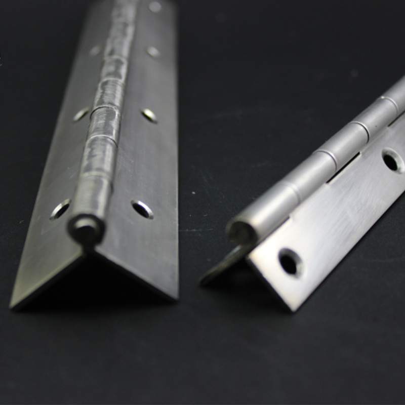 Folded stainless steel strip