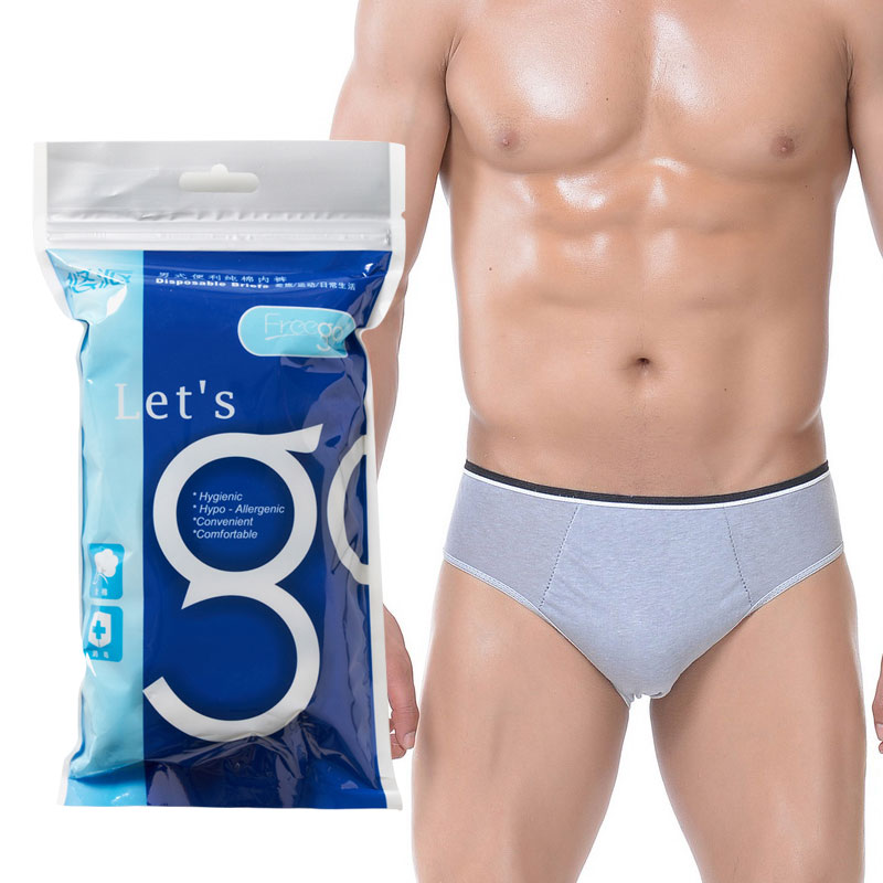 7f3663572381 MenWhite5; Disposable underwear for men and women travel cotton disposable  paper underwear travel adult cotton disposable shorts