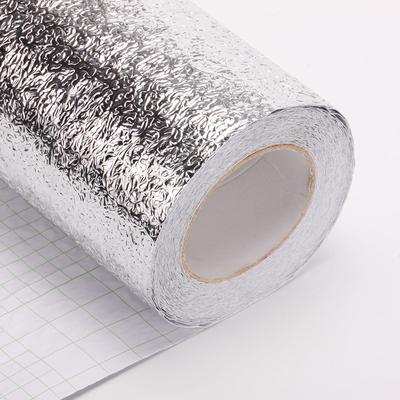 自粘加厚防潮铝箔纸防水防油贴纸