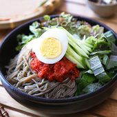 Korean Buckwheat Cold Noodles