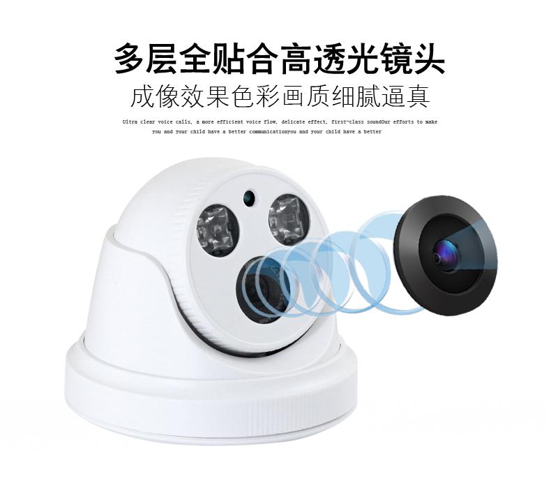 Инфракрасная камера Крытый HD 1200 линия полушарие камеры наблюдения аналоговые камеры в помещении ИК-зонд