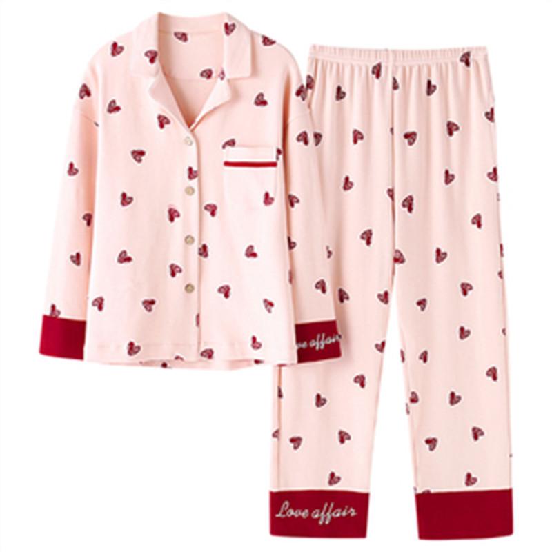 南极人月子服睡衣女春秋纯棉产后孕妇哺乳家居服秋冬薄款喂奶套装