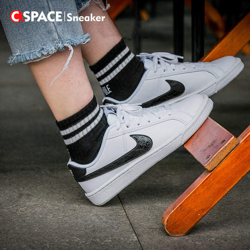 Cspace Nike Court Royale SL Casual Sneakers Men and Women 749867-100 ... 76e1a5548