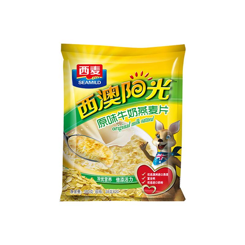【第二件0元】西麦燕麦片原味牛奶560g