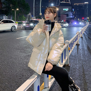 Off-season down cotton-padded jacket women's short Korean style loose cotton-padded jacket winter clothing 2020 new winter jacket clearance sale