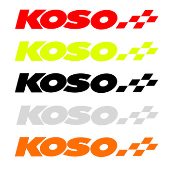 Koso stickers motorcycle accessories automobile pedal electric vehicle electric motorcycle Fusi rsz ghostly fire refitting personalized stickers