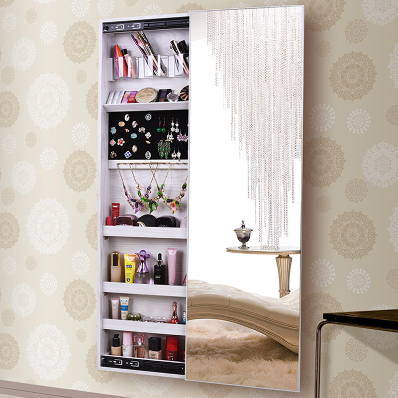 hanging full length mirror mirror home fulllength mirror jewelry storage locker cloakroom wall hanging side fitting