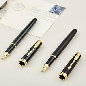 英雄签字笔商务高档男女士宝珠笔金属签名笔中性笔定制公司logo礼品笔碳素水性笔免费刻字学生用定制生日礼物