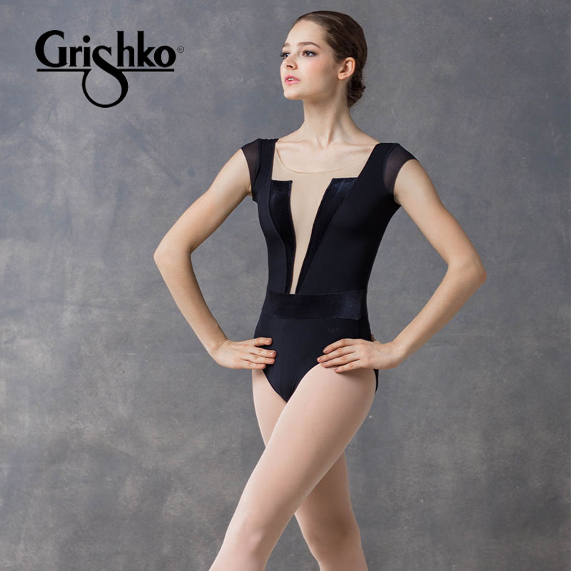 bd1605653bce Russian imports Grishko dance dress short-sleeved ballet practice clothes  gym clothes air yoga clothing DA1807