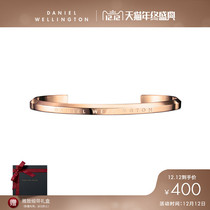 DW Watch accessories Simple gold jewelry opening bracelet mens and womens bracelets
