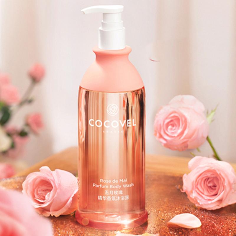 【cocovel】玫瑰香氛沐浴露持久留香