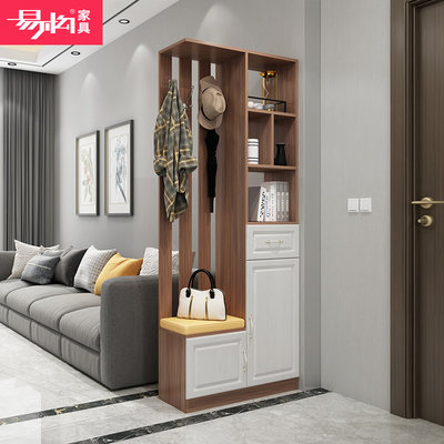 The integrated porch cabinet is integrated with modern simplicity to the door, and the living room room cabinet is the door to the door.