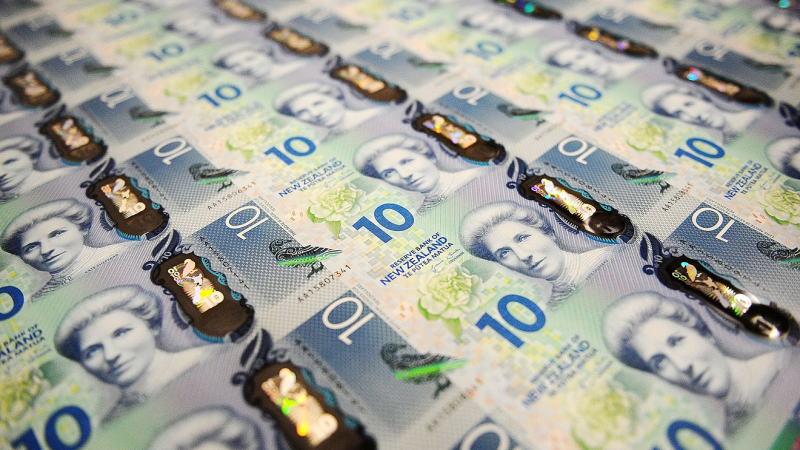 新西兰央行短期内不会将利率降至负数,纽元有望升至0.70