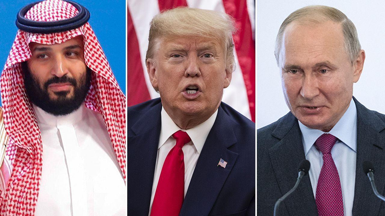 特朗普称,沙特和俄罗斯将宣布新的减产计划,减产量将大大超过1,000万桶/天。国际油价直线反弹!