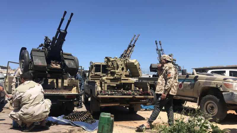 利比亚冲突日益恶化,石油工人工会负责人被捕