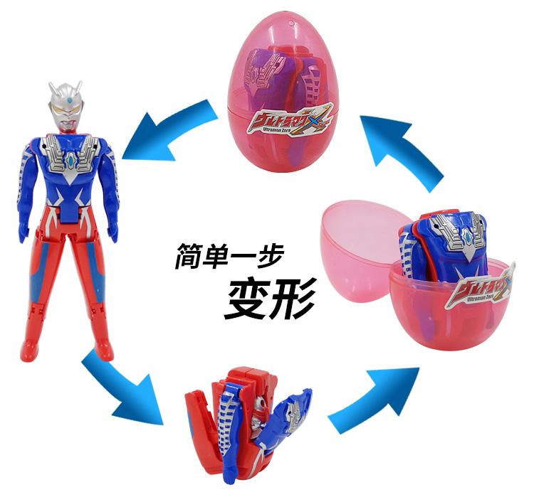 变形扭扭蛋奇趣拆蛋玩具英雄归来蜘蛛人钢铁人男孩儿童玩具礼品详细照片