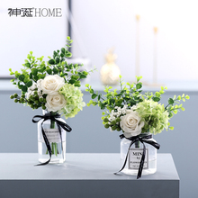 North Europe ins small fresh silk flower artificial flower living room decoration table decoration flower art set decoration