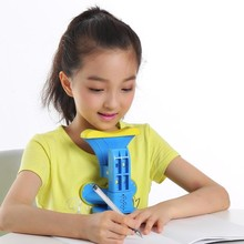 Sitting corrector support correction writing homework primary school students portable vision bow desk hunchback bracket
