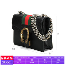 Gucci / Gucci 2019 new women's small one shoulder messenger bag chain Dionysus bag 421970