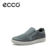 Ecco Aibu leisure new leather shoes with one foot on Enni beans