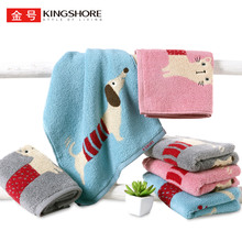 6 gold cotton towels cloud feeling cotton soft skin comfort class a baby suitable for water absorption comfort