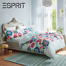 Esprit home textile American cotton all cotton bed 4-piece 1.5m/1.8m sheet and quilt cover yf05