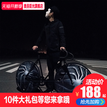 Dead flying bicycles for male and female students adult reverse brake disc solid tire bicycle inflatable road car racing 26 \