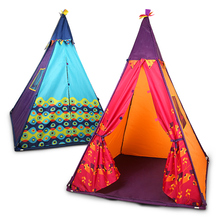 New Qi Indian children's tent game house children's room Princess small house yurt toy house boys and girls