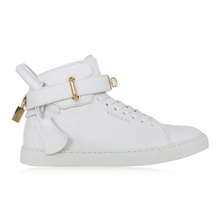 Buscemi women's white casual shoes high top 300105