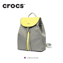 Crocs2018 new women's backpack in nylon leisure fashion Vintage Backpack Bag