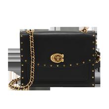 Direct sale coach parker18 leather rivet chain Single Shoulder Messenger Bag 35566 29389