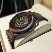 Carole автоматические механические часы мужчины часы действительно пояса моды личности полые мужские часы водонепроницаемые часы подлинной
