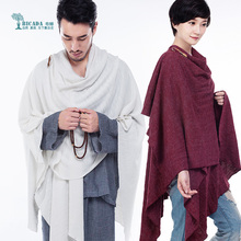 Spring and summer new knitted cotton increased Yoga Cape meditation Cape kundahlini blanket meditation meditation blanket