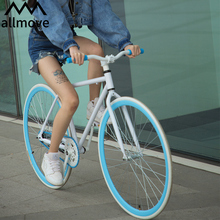 Dead flying bicycle road race net red solid tire reverse brake live flying bicycle light adult student adult male female
