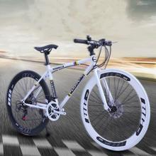 Road racing dead flying bicycle variable speed bend net red solid tire live flying bicycle double disc brake adult students male and female
