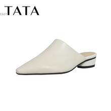 East Tata pointed flat bottomed outdoor Baotou women's shoes