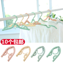 Clothes hanging and antiskid clothes shelf portable travel clothes hanging and clothes hanging and magic clothes traveling plastic folding rack