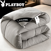 Playboy water wash cotton summer cool quilt air conditioning quilt single spring and autumn quilt core double cotton thin quilt pure cotton