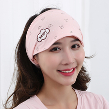 Spring and autumn style post natal women's hair in autumn with maternity headband, headband, maternity hat in autumn and winter