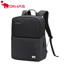 OIWAS / OIWAS backpack simple business bag multi function 15 inch computer bag fashionable men's travel bag