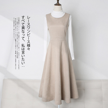 Vest two pieces of new style dress with western style and straps in autumn and winter