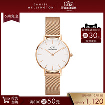 Danielwellington DW metal strap for girls simple fashion quartz wristwatch