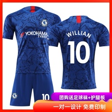Chelsea Jersey 19-20 home football suit customized for boys, adults and children's game training team uniform