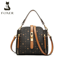Golden Fox small bag women's new cross arm old flower mini fashion one shoulder portable bucket bag in autumn 2019